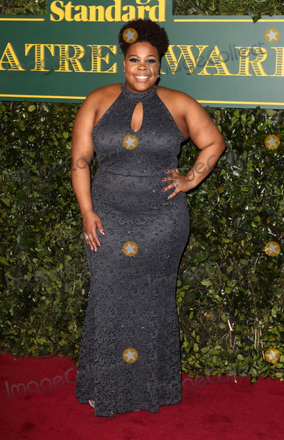 Amber Riley Photo - London UK Amber Riley at London Evening Standard Theatre Awards at the Theatre Royal Drury Lane Catherine Street London on Sunday 3rd December 2017Ref LMK73-J1239-041217Keith MayhewLandmark MediaWWWLMKMEDIACOM