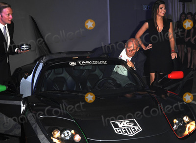 Rupert Penry-Jones Photo - LondonUK  Rupert Penry-Jones and Sir Stirling Moss  at the 150th anniversary of Tag Heuer The event saw the arrival of a Tag Heuer sponsored  electric powered Tesla super car which is currently touring the world This is the fartheset distance any electric car has done 15th September 2010SydLandmark Media