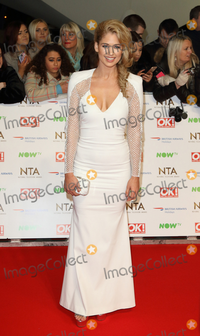 Amanda Clapham Photo - LondonUK Amanda Clapham  at the National Television Awards 2016 Red Carpet arrivals at the O2 London 20th January 2016 RefLMK73-59159-210116 Keith MayhewLandmark Media  WWWLMKMEDIACOM