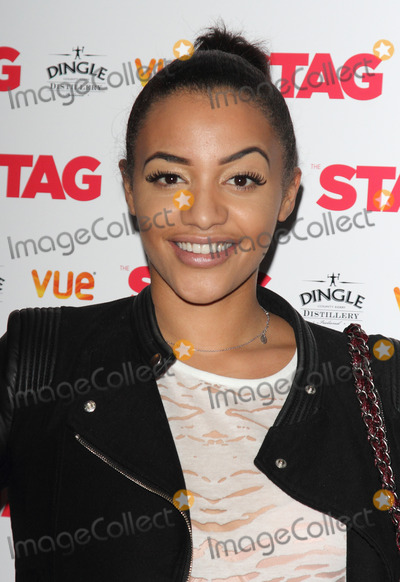 Amal Fashanu Photo - London UK Amal Fashanu at Gala screening of The Stag at the Vue Leicester Square London on March 13th 2014Ref LMK73-47856-140314Keith MayhewLandmark Media WWWLMKMEDIACOM