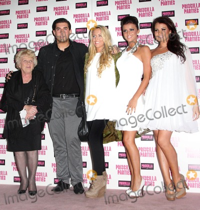 Lucy Meck Photo - London UK Nanny Pat James Argent Lydia Bright Lucy Meck and Jessica Wright at the launch of Priscilla Parties at the Palace Theatre 24th January 2011Keith MayhewLandmark Media