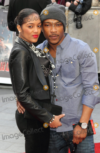 Ashley Walter Photo - London UK   Ashley Walters and Natalie Williams  at the UK  Premiere of  Iron Man 3  at Odeon Leicester Square  18th April 2013Keith MayhewLandmark Media