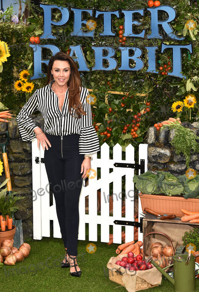 Michelle Heaton Photo - London UK Michelle Heaton at the Peter Rabbit UK Gala Premiere held at Vue Westend Leicester Square London on Sunday 11 March 2018 Ref LMK392 -J1702-120318Vivienne VincentLandmark Media WWWLMKMEDIACOM