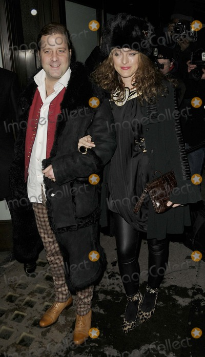 Alice Temperley Photo - London UK Alice Temperley and guest   at the Celebration of Film Dinner Cecconis Bar and Restaurant Burlington Gardens 6th February 2009 Can NguyenLandmark Media
