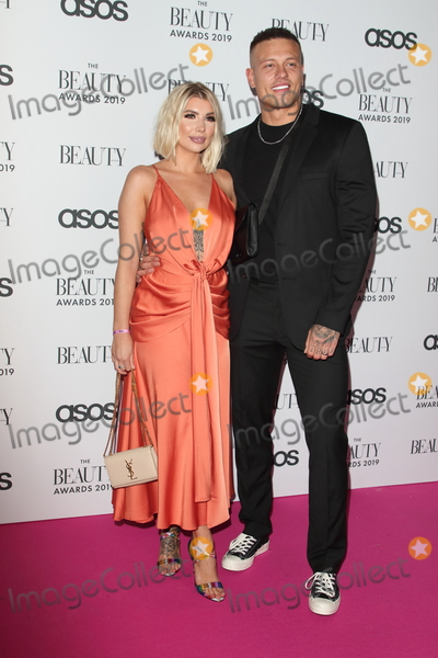 Olivia Buckland Photo - LondonUK Olivia Buckland and Alex Bowen   at  The Beauty Awards 2019 VIP Pink Carpet at City Central at the HAC Chiswell St London 25th November 2019RefLMK73-2625-261119Keith MayhewLandmark MediaWWWLMKMEDIACOM