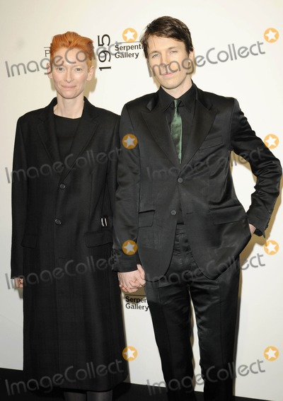 Ryan McGinley Photo - London UK Tilda Swinton and Ryan McGinley at the Pringle of Scotland aw 2010 catwalk show held at the Serpentine Gallery in London 22nd February 2010Can NguyenLandmark Media