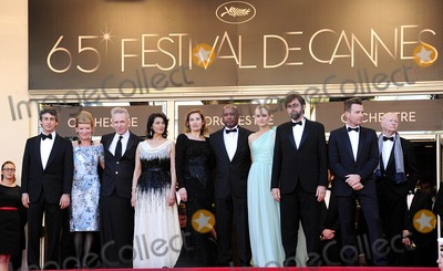 Andrea Arnold Photo - Cannes France Alexander Payne Andrea Arnold Jean-Paul Gautier Hiam Abbass Emmanuelle Devos Raoul Peck Diane Kruger President of the Jury Nanni Moretti and Ewan McGregor at the 65th Annual Cannes Film Festival of Moonrise Kingdom and the opening ceremony 16th May 2012SydLandmark Media