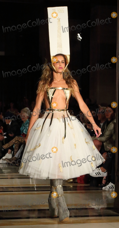 Alice Dellal Photo - London UK Alice Dellal on the Catwalk at the London Fashion Show (LFW) SS 2019 Pam Hogg show at Freemasons Hall London on Friday 14th September 2018   RefLMK73-S1751-150918 Keith MayhewLandmark Media WWWLMKMEDIACOM