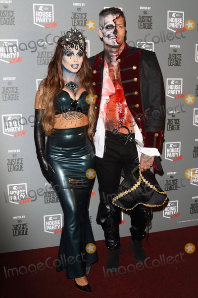 Alex Bowen Photo - London UK Olivia Buckland and Alex Bowen  at KISS House Party at SSE Arena Wembley London on Thursday 26 October 2017Ref LMK73-J1017-271017Keith MayhewLandmark MediaWWWLMKMEDIACOM