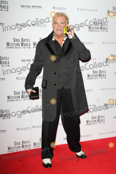 Steve Strange Photo - London UK Steve Strange at the Soul Boys Of The Western World Film Premiere at the Royal Albert Hall London on September 30th 2014 Ref LMK73-49665-011014Keith MayhewLandmark Media WWWLMKMEDIACOM