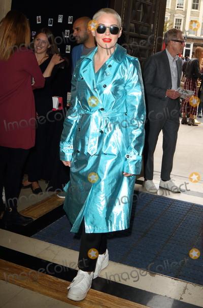 Rose Mc Gowan Photo - London UK Rose McGowan  at the London Fashion Show (LFW) SS 2019 Pam Hogg show at Freemasons Hall London on Friday 14th September 2018   RefLMK73-S1751-150918 Keith MayhewLandmark Media WWWLMKMEDIACOM