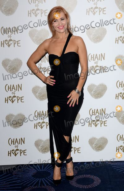 Anya Garnis Photo - London UK  220914Anya Garnis at the Chain of Hope Gala Ball held at the Grosvenor House Hotel Park LaneRef LMK392-50153-221114Vivienne VincentLandmark MediaWWWLMKMEDIACOM