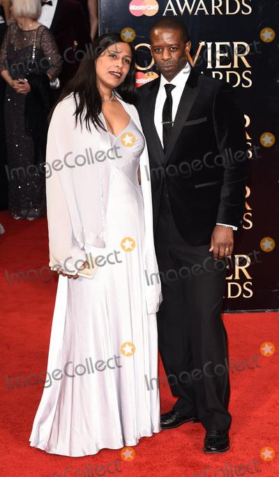 Adrian Lester Photo - London UK Lolita Chakrabarti and Adrian Lester at 40th Olivier Awards held at The Royal Opera House  in London on Sunday 3rd  April 2016Ref LMK392 -60134-040416Vivienne VincentLandmark MediaWWWLMKMEDIACOM