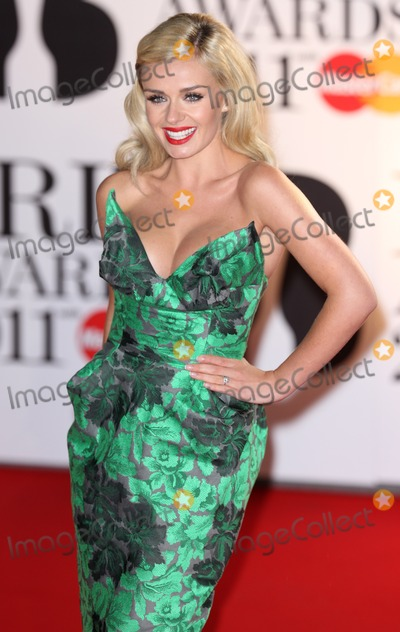 Katherine Jenkins Photo - London UK  Katherine Jenkins  at the BRIT Awards 02 Arena London 15th February 2011  Evil ImagesLandmark Media