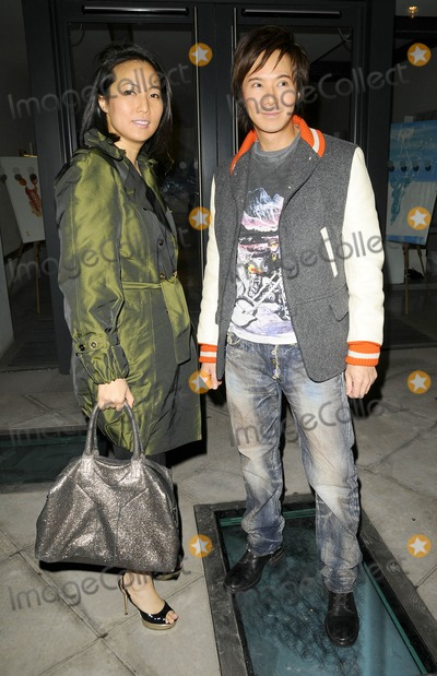 Andy Wong Photo - London UK London UK Patti and Andy Wong at the Meredith Ostrom Naked Soul private view 12th March 2009Can NguyenLandmark Media