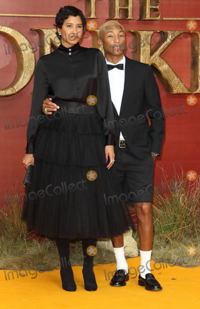 Helen Lasichanh Photo - London UK Helen Lasichanh and Pharrell Williams at European Premiere of Disneys The Lion King at the Odeon Luxe cinema Leicester Square London on July 14th 2019Ref LMK73-J5182-150719Keith MayhewLandmark MediaWWWLMKMEDIACOM