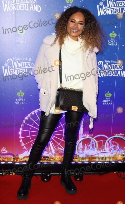 Amber Gill Photo - London UK Amber Gill at Winter Wonderland 2019 VIP Launch at Hyde Park London on November 20th 2019Ref LMK73-J5836-211119Keith MayhewLandmark MediaWWWLMKMEDIACOM