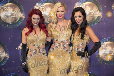 Amy Dowden Photo - LondonUK (L-R) Dancers Dianne Buswell Nadiya Bychkova and Amy Dowden  at  the Strictly Come Dancing 2017 red carpet launch TV premiere at The Piazza on 28th August  2017  RefLMK386-S622-290817  Gary MitchellLandmark Media WWWLMKMEDIACOM
