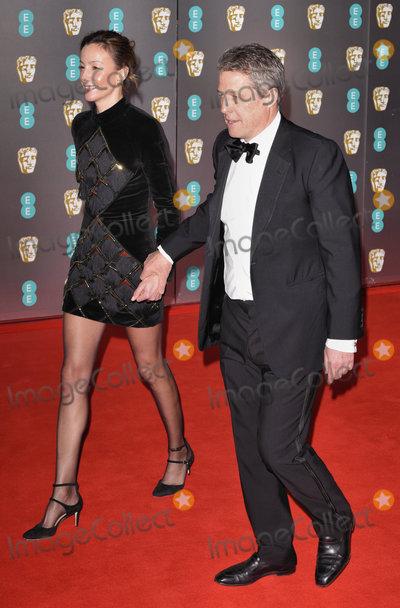 Hugh Grant Photo - London UK Anna Elisabet Eberstein Hugh Grant  at the 73rd British Academy Film Awards held at The Royal Albert Hall South Kennsington on Sunday 2 February 2020 Ref LMK392-S2827-040220Vivienne VincentLandmark Media WWWLMKMEDIACOM