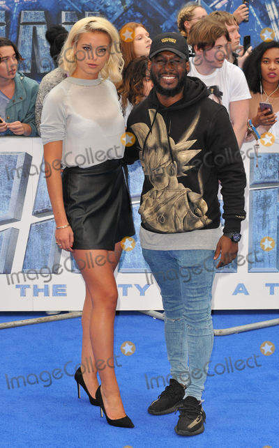 Akin Solanke-Caulker Photo - London UK  240717Olivia Bentley and Akin Solanke-Caulker at the Valerian And The City Of A Thousand Planets European film premiere held at Cineworld Empire cinema Leicester Square25 July 2017Ref LMK315-MB340-250717Can NguyenLandmark MediaWWWLMKMEDIACOM