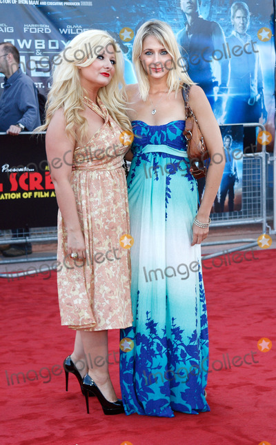 Ali Bastian Photo - London UK 110811Sinead Kelly and Ali Bastian   at the UK premiere of the film Cowboys And Aliens held at Cineworld in the O2 Arena11 August 2011Keith MayhewLandmark Media