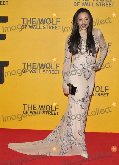 Amal Fashanu Photo - London UK Amal Fashanu at UK Premiere of The Wolf of Wall Street at the Odeon Leicester Square London on January 9th 2014Ref LMK315-46356-100114Can NguyenLandmark MediaWWWLMKMEDIACOM