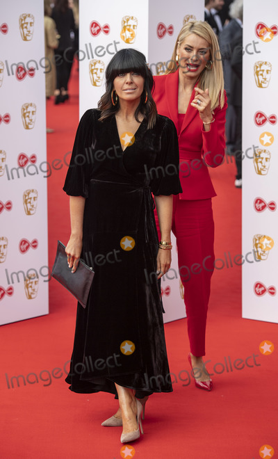 Claudia Winkleman Photo - London UK Claudia Winkleman and Tess Daly   at the Virgin Media British Academy Television Awards at The Royal Festival Hall 12th May 2019 Ref LMK386 -S2416-150519Gary MitchellLandmark Media   WWWLMKMEDIACOM