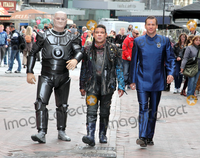 Craig Charles Photo - London UK  L-R Robert Llewellyn   Craig Charles and  Chris Barrie at a Photocall for Red Dwarf X The TV series about a crew of a mining ship lost in deep space which was first broadcast on the BBC in 1988 returns for the tenth series on a different tv channel Show starts October 2012 3rd October 2012 Keith MayhewLandmark Media