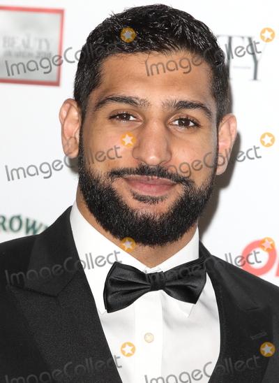 Amir Khan Photo - London UK   Amir Khan    at the The Beauty Awards with OK at the Park Plaza Westminster Bridge London on Monday 26 November 2018RefLMK73-S1965-271118Keith MayhewLandmark MediaWWWLMKMEDIACOM
