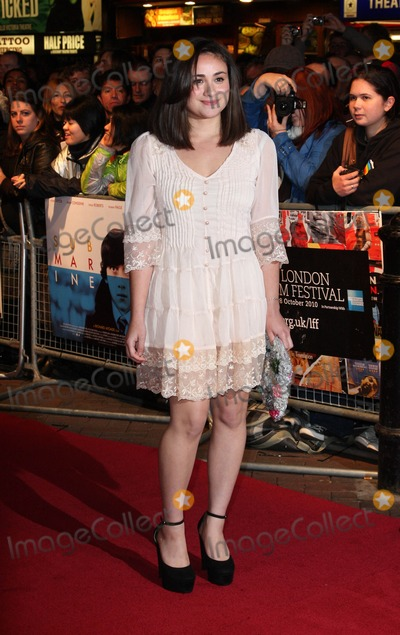 Yasmin Paige Photo - London UK  221010Yasmin Paige at the London Fim Festival screening of the film Submarine held at the Vue West End cinema in Leicester Square22 October 2010Keith MayhewLandmark Media