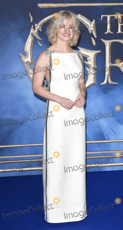 Alison Sudol Photo - London UK Alison Sudol at The UK Premiere of Fantastic Beasts The Crimes Of Grindelwald held at Vue West End Leicester Square London on Tuesday 13 November 2018  Ref LMK392-J2943-141118Vivienne VincentLandmark Media WWWLMKMEDIACOM