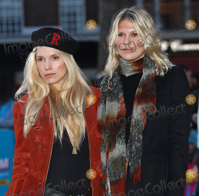 Alexandra Richards Photo - London UK Theodora Richards and Alexandra Richards at Exhibitionism Opening Night Gala at Saatchi Gallery in London 4th April 2016Ref LMK356-60153-070416MARILYN KINGWILLLandmark Media WWWLMKMEDIACOM