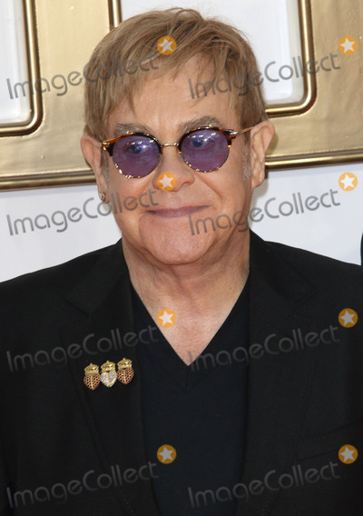 Sir Elton John Photo - London UK Sir Elton John at the Kingsman The Golden Circle World Premiere held at Odeon Leicester Square on September 18 2017 in London EnglandRef LMK73-J756-190917Keith MayhewLandmark MediaWWWLMKMEDIACOM