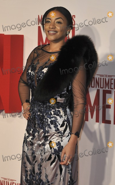 Amal Fashanu Photo - London UK  110214Amal Fashanu at the UK Premiere of The Monuments Men held at the Odeon Leicester Square11 February 2014Ref LMK386-42326-120214Gary MitchellLandmark MediaWWWLMKMEDIACOM