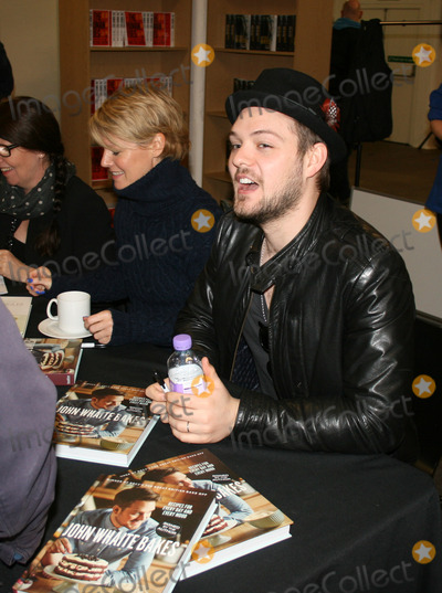 John Whaite Photo - London UK  Author John Whaite with his book  John Whaite Bakes Day 2 Nordicana 2nd Day The event is a weekend celebration of television and film created  by the Scandinavian nations of Norway Denmark Sweden and Iceland - also known as Nordic Noir 2nd February 2014  RefLMK11-40546-020214 Landmark MediaWWWLMKMEDIACOM