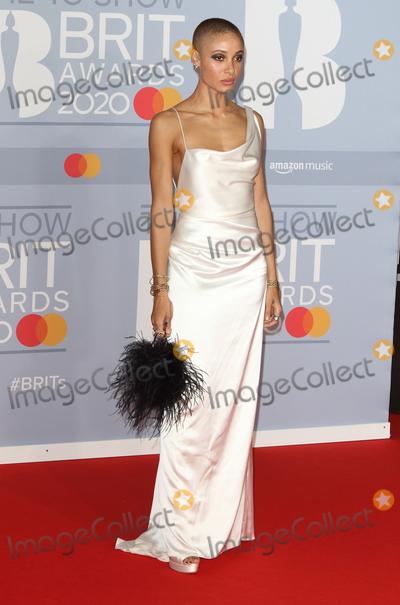 Adwoa Aboah Photo - London UK Adwoa Aboah at 40th Brit Awards Red Carpet arrivals The O2 Arena London on February 18th 2020Ref  LMK73-J6246-190220Keith MayhewLandmark Media WWWLMKMEDIACOM