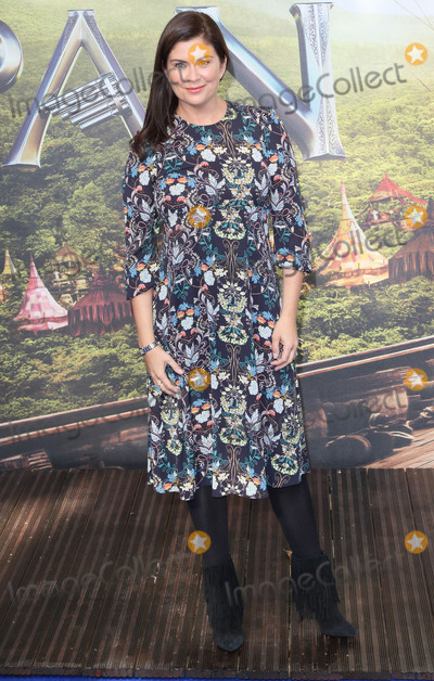 Amanda Lamb Photo - London UK Amanda Lamb at World Premiere of Pan at the Odeon Leicester Square London on September 20th 2015 Ref LMK73-58282-210915Keith MayhewLandmark Media WWWLMKMEDIACOM