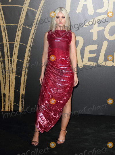 Alice Chater Photo - London UK Alice Chater  at Spring Summer 2020  Naomi Campbells Fashion For Relief Red Carpet Arrivals at the British Museum London Fashion Week 14th September  2019RefLMK73-2350-150919Keith MayhewLandmark Media WWWLMKMEDIACOM