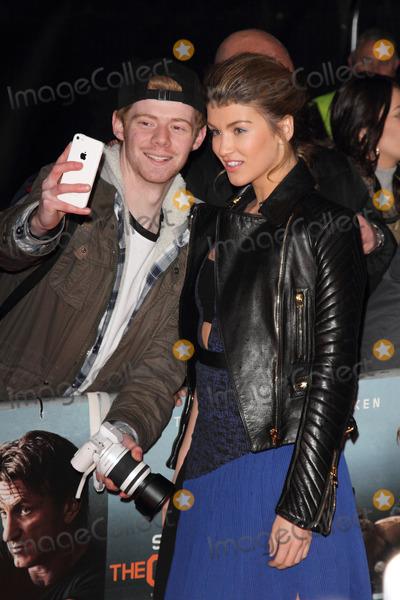 Amy Willerton Photo - London UK Amy Willerton at World Premiere of The Gunman at BFI South Bank London on 16th February 2015Ref LMK73-505602-170215Keith MayhewLandmark Media WWWLMKMEDIACOM