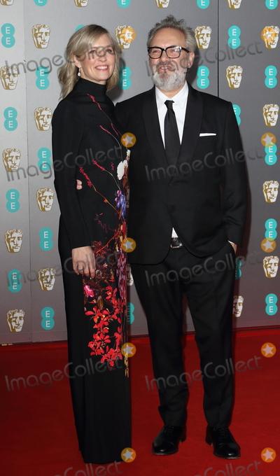 Alison Balsom Photo - London UK Alison Balsom and Sam Mendes   atBAFTA British Academy Film Awards at the Royal Albert Hall London 2nd February 2020  RefLMK73-S2826-030220Keith MayhewLandmark Media WWWLMKMEDIACOM