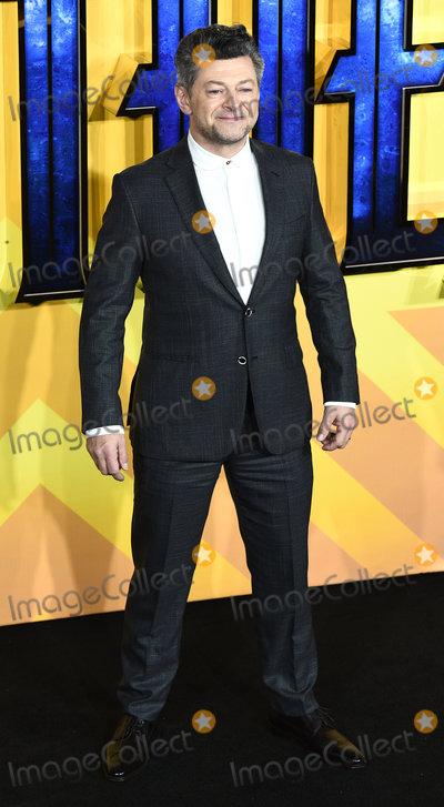 Andy Serkis Photo - London UK Andy Serkis at The European Premiere of Black Panther held at Eventim Apollo Hammersmith London on Thursday 8 February 2018Ref LMK392 -J1536-090218Vivienne VincentLandmark Media WWWLMKMEDIACOM