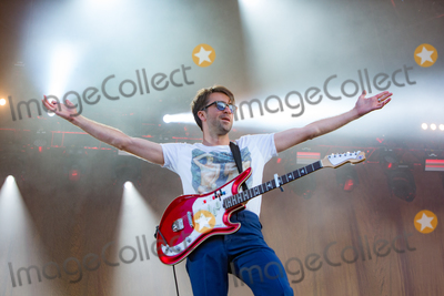 The Vaccines Photo - Southwold Suffolk British indie rock band The Vaccines play the Obelisk Arena on the second day of the  2018 Latitude Festival  at Henham Park near Southwold Suffolk 14th July 2018Ref LMK73-J2315-160718Keith MayhewLandmark MediaWWWLMKMEDIACOM