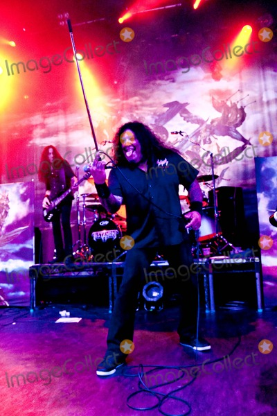 Chuck Billy Photo - London UK Testament perform live at the O2 Shepherds Bush Empire n London Testament are Chuck Billy Eric Peterson Greg Christian Alex Skolnick and Paul Bostaph 24th July 2009Taya UddinLandmark Media