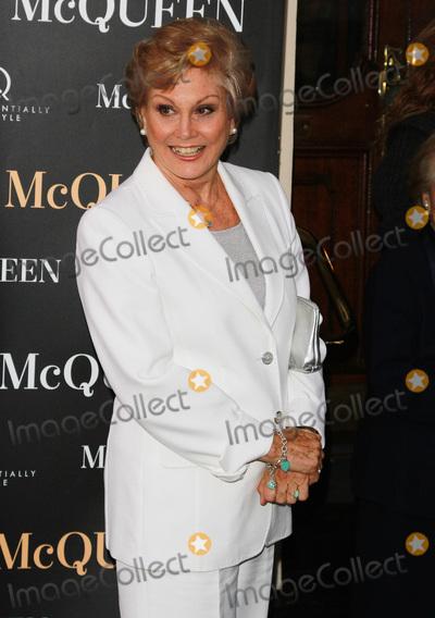 Angela Rippon Photo - London UK Angela Rippon at McQueen at the  Press Night Theatre Royal Haymarket 27th August 2015 Ref LMK394-58176-290815Brett CoveLandmark Media  WWWLMKMEDIACOM