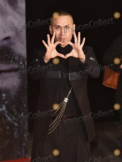 Black-Eyed Peas Photo - LondonUK Taboo (The Black Eyed Peas) at the UK Premiere of  The Revenant  at the Empire Leicester Square 14th January 2016 Ref LMK392-59129-150116Vivienne VincentLandmark Media WWWLMKMEDIACOM