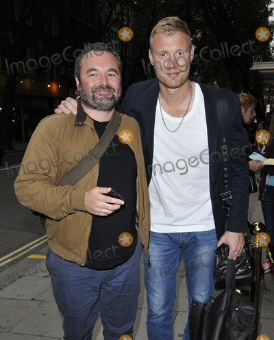 Andrew Flintoff Photo - London UK  Andrew Flintoff  and guest  at  the The Guvnors  VIP film screening Odeon Covent Garden cinema Shaftesbury Avenue on Wednesday 27th August  2014 RefLMK315-49451-280814 Can NguyenLandmark MediaWWWLMKMEDIACOM