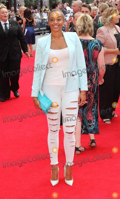 Amal Fashanu Photo - London England UK Amal Fashanu at World Premiere of The Expendables 3 at the Odeon Leicester Square London on August 4th 2014Ref LMK73-49257-050714Keith MayhewLandmark MediaWWWLMKMEDIACOM