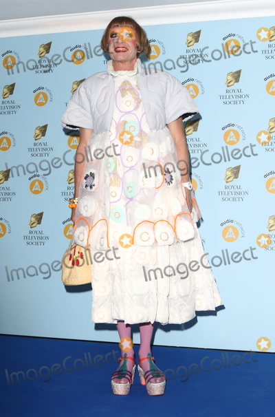 Grayson Perry Photo - London UK Grayson Perry at the Royal Television Awards 2018 at the Grosvenor House Park Lane London on Tuesday March 20th 2018Ref LMK73-J1754-210318Keith MayhewLandmark MediaWWWLMKMEDIACOM