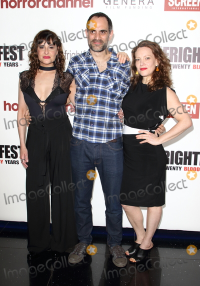 Agustina Cervino Photo - LondonUK   Valeria Giorcelli Martin Blousson and Agustina Cervino  at  Come To Daddy screening -  FrightFest 2019 Opening Night at the Cineworld Empire 22nd August 2019 RefLMK73-S2755-230819Keith MayhewLandmark Media WWWLMKMEDIACOM