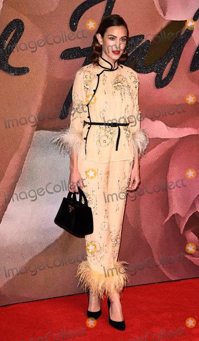 Alexa Chung Photo - London UKAlexa Chung at The Fashion Awards held at The Royal Albert Hall South Kensington London on Monday 5 December 2016Ref LMK392-61340-061216Vivienne VincentLandmark Media WWWLMKMEDIACOM